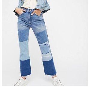 Levi patch jeans